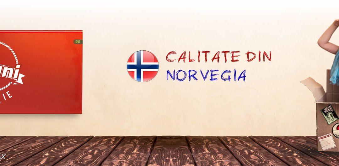 Inca o noutate in lumea panourilor electrice de incalzire norvegiene Adax
