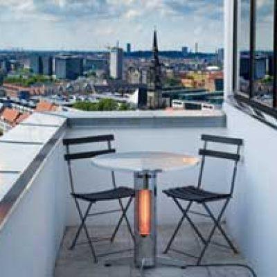 Incalzire cu infrarosu Mensa Heating pentru terase